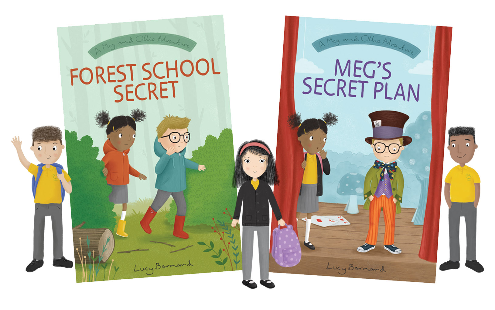 Meg and Ollie – Early Chapter Book Series Header Image