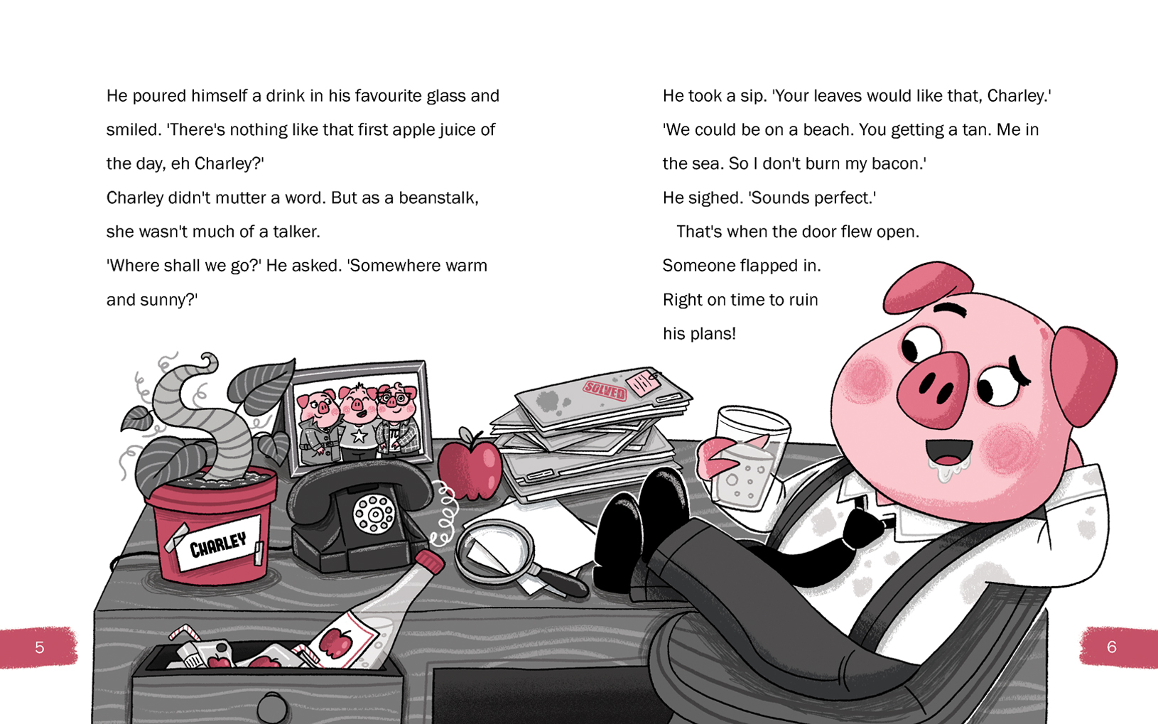 P.I.Gordo – Chapter Book Header Image