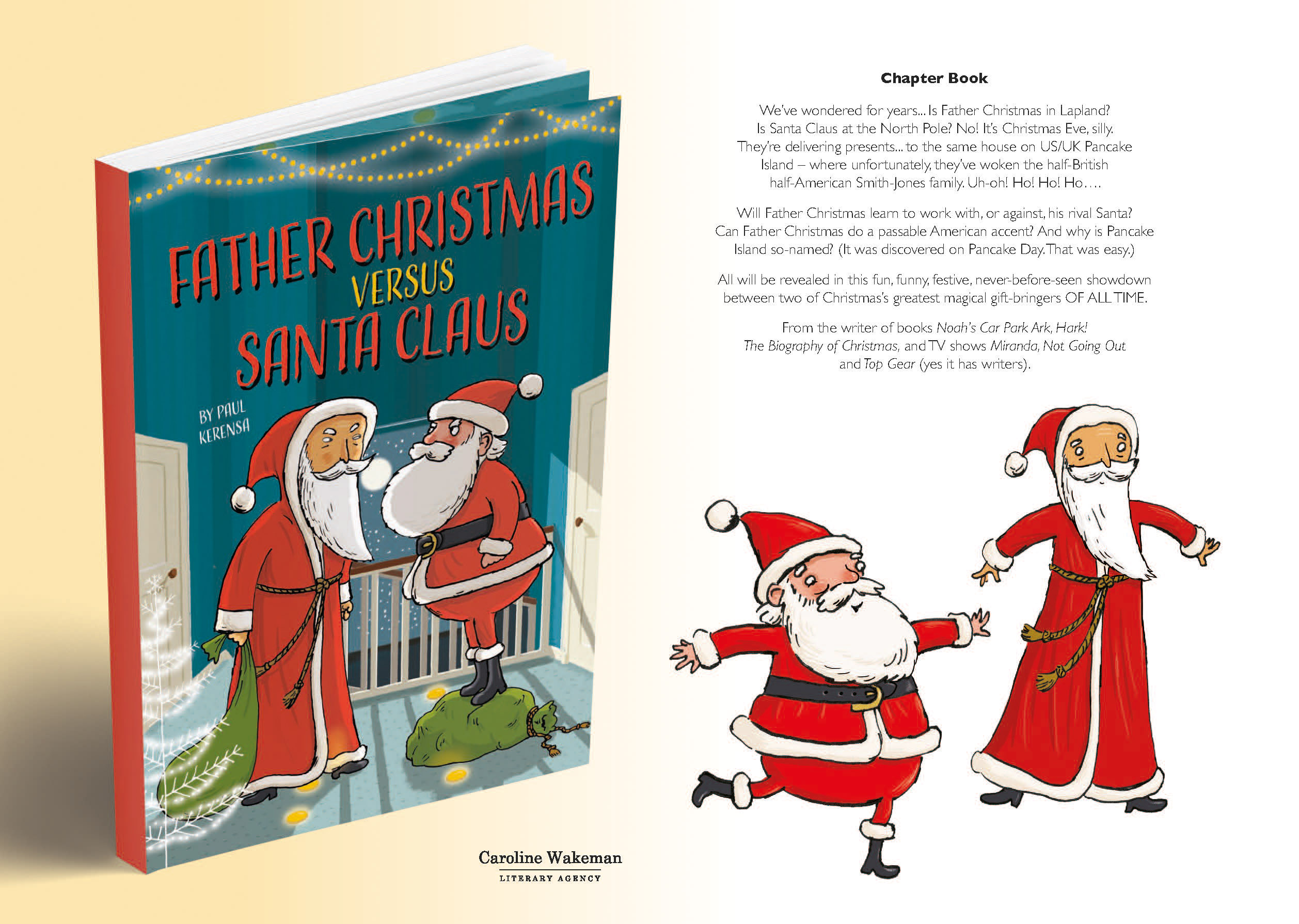 Father Christmas Versus Santa Claus – Chapter Book Header Image